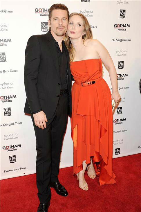 "<div class=""meta ""><span class=""caption-text "">Ethan Hawke,Julie Delpy appear at the IFP Gotham Independent Film Awards in New York City on Dec. 2, 2013. (Bill Davila/startraksphoto.com)</span></div>"