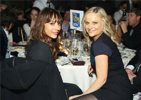 Rashida Jones and Amy Poehler appear at the IFP Gotham Independent Film Awards in New York City on Dec. 2, 2013. <span class=meta>(Sara Jaye Weiss&#47;StartraksPhoto.com)</span>