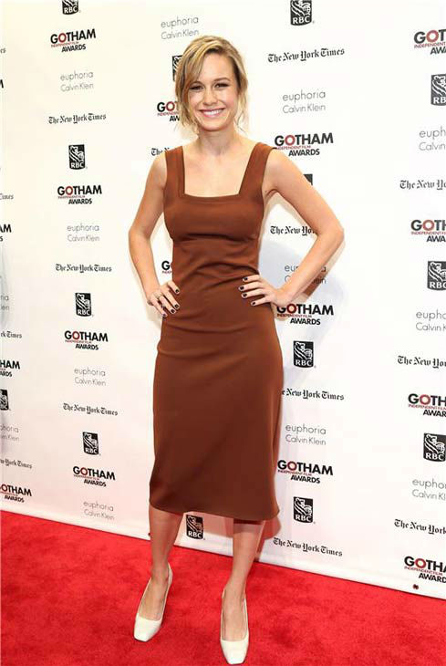 Brie Larson appears at the IFP Gotham Independent Film Awards in New York City on Dec. 2, 2013. <span class=meta>(Sara Jaye Weiss&#47;StartraksPhoto.com)</span>