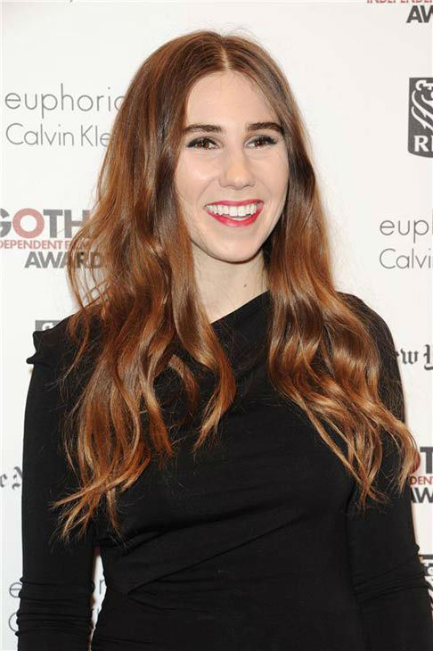 Zosia Mamet appears at the IFP Gotham Independent Film Awards in New York City on Dec. 2, 2013.