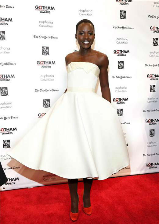 "<div class=""meta ""><span class=""caption-text "">Lupita Nyong'o appears at the IFP Gotham Independent Film Awards in New York City on Dec. 2, 2013. (Sara Jaye Weiss/StartraksPhoto.com)</span></div>"