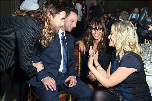 "<div class=""meta ""><span class=""caption-text "">Jared Leto, Nick Kroll, Rashida Jones, Amy Poehler appear at the IFP Gotham Independent Film Awards in New York City on Dec. 2, 2013. (Sara Jaye Weiss/StartraksPhoto.com)</span></div>"