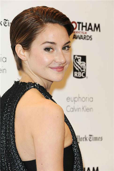 Shailene Woodley appears at the IFP Gotham Independent Film Awards in New York City on Dec. 2, 2013. <span class=meta>(Bill Davila&#47;startraksphoto.com)</span>