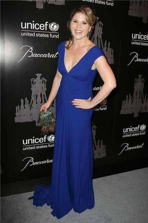 Jenna Bush Hager appears at the Ninth Annual UNICEF Snowflake Ball in New York City on Dec. 3, 2013. <span class=meta>(Amanda Schwab&#47;Startraksphoto.com)</span>