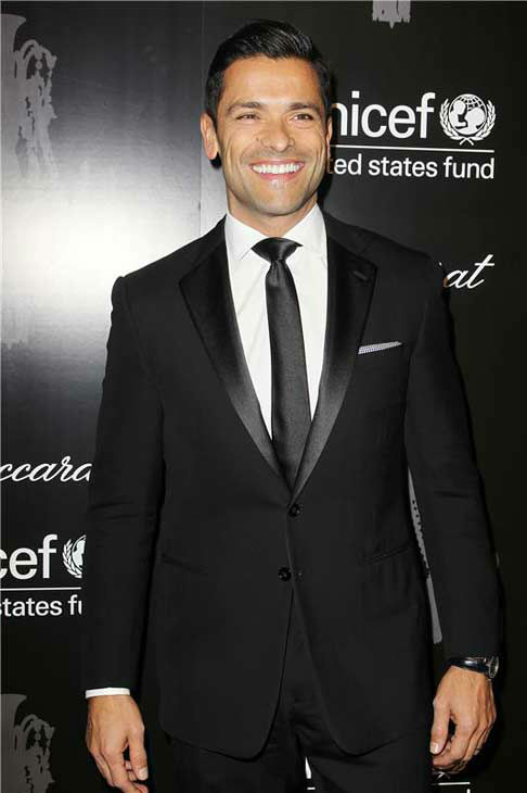 Mark Consuelos appears at the Ninth Annual UNICEF Snowflake Ball in New York City on Dec. 3, 2013. <span class=meta>(Amanda Schwab&#47;Startraksphoto.com)</span>