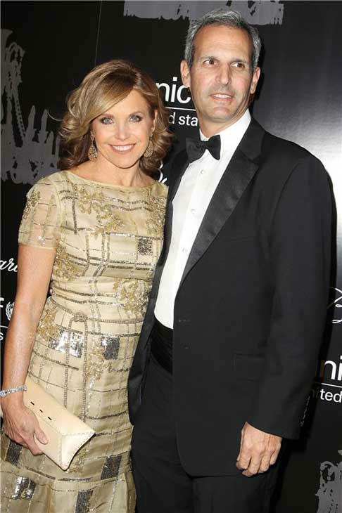Katie Couric and her fiance John Molner appear at the Ninth Annual UNICEF Snowflake Ball in New York City on Dec. 3, 2013. <span class=meta>(Amanda Schwab&#47;Startraksphoto.com)</span>