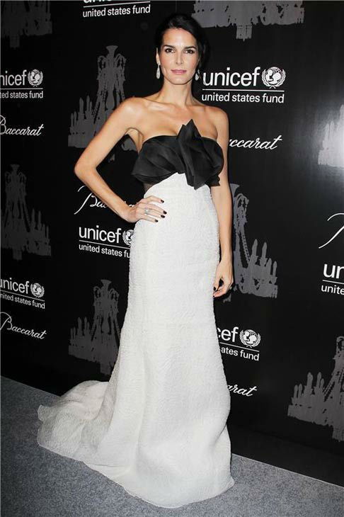 "<div class=""meta ""><span class=""caption-text "">Angie Harmon Katie Couric appears at the Ninth Annual UNICEF Snowflake Ball in New York City on Dec. 3, 2013. (Amanda Schwab/Startraksphoto.com)</span></div>"