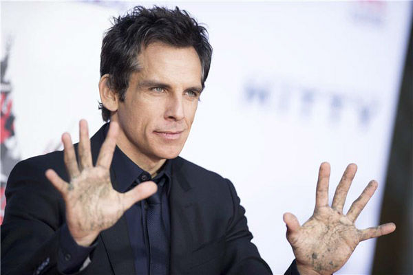Ben Stiller appears at his hand and footprint ceremony at the TCL Chinese Theatre in Los Angeles on Dec. 3, 2013. <span class=meta>(Lionel Hahn&#47;Abacausa&#47;startraksphoto.com)</span>
