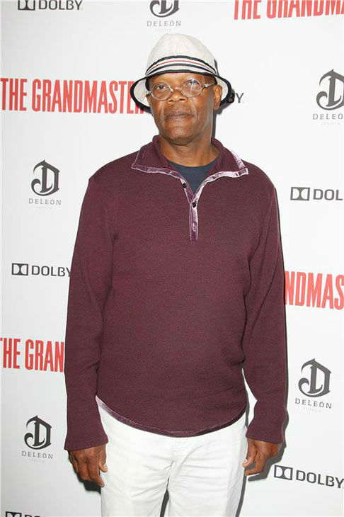 Samuel L. Jackson appears at the New York Premiere of 'The Grandmaster' on Aug.  13, 2013.