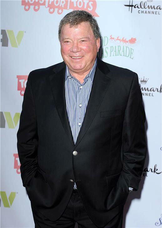 William Shatner appears 2013 Hollywood Christmas Parade on Dec. 1, 2013.