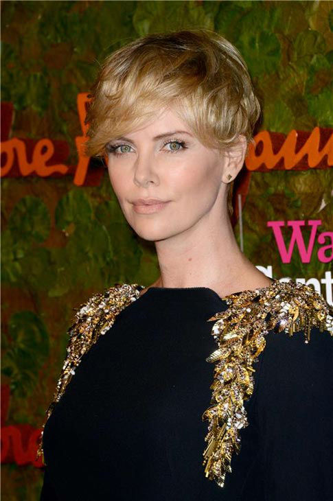 Charlize Theron appears at the Wallis Annenberg Center for the Performing Arts Inaugural Gala Presented by Salvatore Ferragamo in Los Angeles on Oct. 17, 2013.