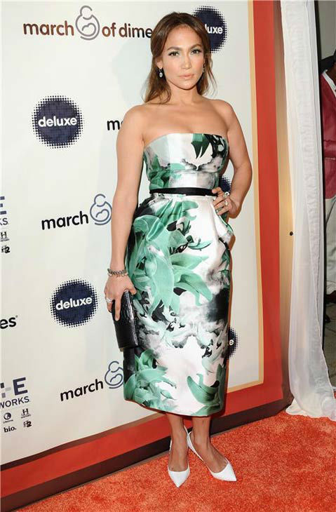 Jennifer Lopez appears at the March of Dimes Celebration of Babies 2013 event on Dec. 6, 2013.