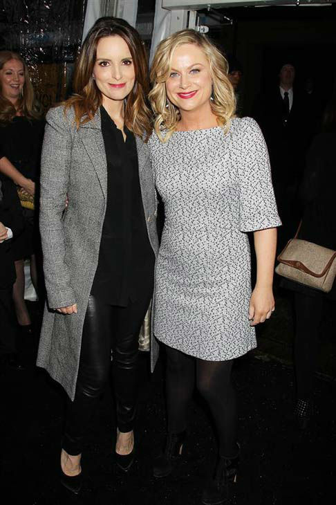 Tina Fey and Amy Poehler appear at the premiere of &#39;Anchorman 2: The Legend Continues&#39; in New York on Dec. 15, 2013. <span class=meta>(Dave Allocca &#47; Startraksphoto.com)</span>