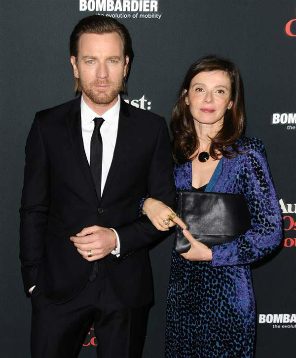 Ewan McGregor and Eve Mavrakis appear at the &#39;August: Osage County&#39; Los Angeles premiere on Dec. 16, 2013. <span class=meta>(Sara De Boer&#47;startraksphoto.com)</span>
