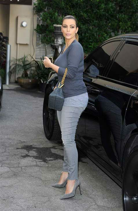 Kim Kardashian is seen out in Beverly Hills, California, on Dec. 16, 2013. <span class=meta>(Daniel Robertson&#47;startraksphoto.com)</span>