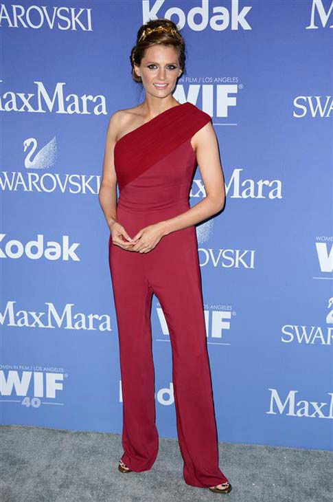 "<div class=""meta image-caption""><div class=""origin-logo origin-image ""><span></span></div><span class=""caption-text"">Stana Katic (ABC's 'Castle') appears at the Women in film's 2013 Crystal and Lucy Awards in Los Angeles, California on June 12, 2013.  (Lionel Hahn / AbacaUSA / startraksphoto.com)</span></div>"