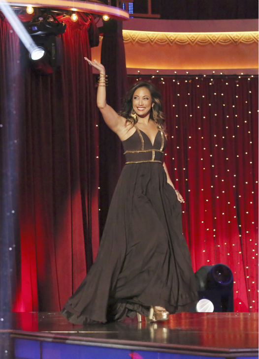Judge Carrie Ann Inaba appears on week 4 of season 16 of &#39;Dancing With The Stars,&#39; which aired on April 8, 2013. <span class=meta>(ABC Photo &#47; Adam Taylor)</span>