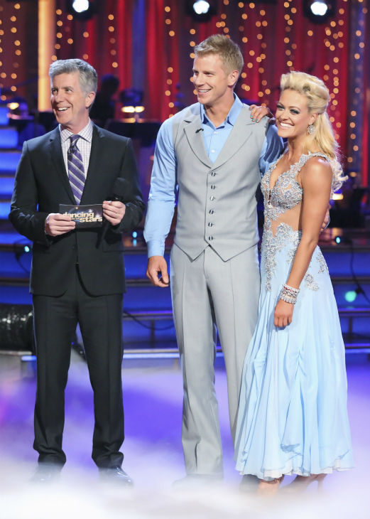 Former &#39;Bachelor&#39; star Sean Lowe and his partner Peta Murgatroyd received 20 out of 30 points from the judges for their Viennese Waltz during week 4 of season 16 of &#39;Dancing With The Stars,&#39; which aired on April 8, 2013. <span class=meta>(ABC Photo &#47; Adam Taylor)</span>