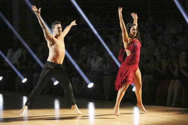 "<div class=""meta ""><span class=""caption-text "">Olympic gymnast Aly Raisman and her partner Mark Ballas received 27 out of 30 points from the judges for their Contemporary dance during week 4 of season 16 of 'Dancing With The Stars,' which aired on April 8, 2013. (ABC Photo / Adam Taylor)</span></div>"