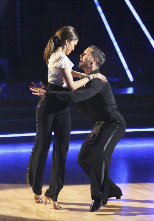 "<div class=""meta ""><span class=""caption-text "">'Shake It Up' actress Zendaya Coleman and her partner Val Chmerkovskiy received 26 out of 30 points from the judges for their Samba during week 4 of season 16 of 'Dancing With The Stars,' which aired on April 8, 2013. (ABC Photo / Adam Taylor)</span></div>"