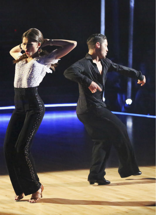 &#39;Shake It Up&#39; actress Zendaya Coleman and her partner Val Chmerkovskiy received 26 out of 30 points from the judges for their Samba during week 4 of season 16 of &#39;Dancing With The Stars,&#39; which aired on April 8, 2013. <span class=meta>(ABC Photo &#47; Adam Taylor)</span>