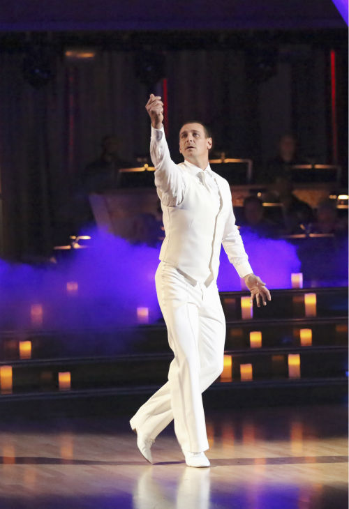 Actor Ingo Rademacher and his partner Kym Johnson received 23 out of 30 points from the judges for their Viennese Waltz during week 4 of season 16 of &#39;Dancing With The Stars,&#39; which aired on April 8, 2013. <span class=meta>(Photo&#47;Adam Taylor)</span>