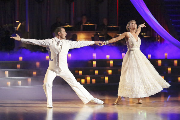 Actor Ingo Rademacher and his partner Kym Johnson received 23 out of 30 points from the judges for their Viennese Waltz during week 4 of season 16 of &#39;Dancing With The Stars,&#39; which aired on April 8, 2013. <span class=meta>(ABC Photo&#47; Adam Taylor)</span>