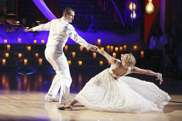 "<div class=""meta ""><span class=""caption-text "">Actor Ingo Rademacher and his partner Kym Johnson received 23 out of 30 points from the judges for their Viennese Waltz during week 4 of season 16 of 'Dancing With The Stars,' which aired on April 8, 2013. (Photo/Adam Taylor)</span></div>"