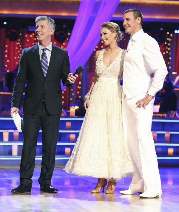 "<div class=""meta ""><span class=""caption-text "">Actor Ingo Rademacher and his partner Kym Johnson received 23 out of 30 points from the judges for their Viennese Waltz during week 4 of season 16 of 'Dancing With The Stars,' which aired on April 8, 2013. (ABC Photo/ Adam Taylor)</span></div>"