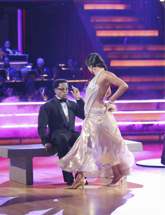 "<div class=""meta ""><span class=""caption-text "">Actor and comedian D.L. Hughley and his partner Cheryl Burke received 21 out of 30 points from the judges for their Foxtrot during week 4 of season 16 of 'Dancing With The Stars,' which aired on April 8, 2013. (ABC Photo/ Adam Taylor)</span></div>"