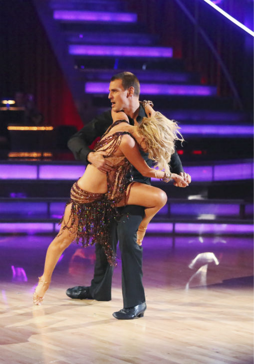 Sean Lowe, Ingo Rademacher and their partners compete in a Rumba dance-off to earn three extra points from the judges on week seven of &#39;Dancing With The Stars&#39; on April 29, 2013. <span class=meta>(ABC Photo &#47; Adam Taylor)</span>