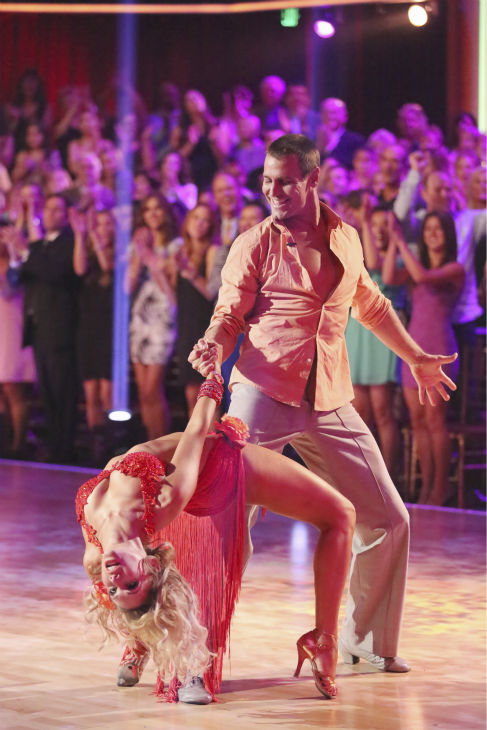 "<div class=""meta image-caption""><div class=""origin-logo origin-image ""><span></span></div><span class=""caption-text"">Actor Ingo Rademacher and partner Kym Johnson dance the Rumba on week seven of 'Dancing With The Stars' on April 29, 2013. They received 22 out of 30 points from the judges. (ABC Photo / Adam Taylor)</span></div>"