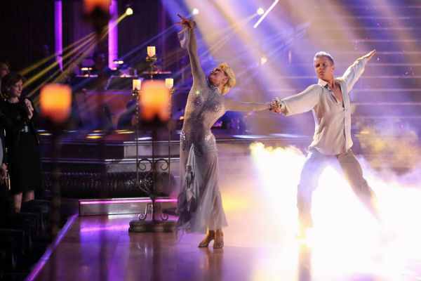 "<div class=""meta image-caption""><div class=""origin-logo origin-image ""><span></span></div><span class=""caption-text"">Former 'Bachelor' star Sean Lowe and his partner Peta Murgatroyd dance the Rumba on week 7 of 'Dancing With The Stars' on April 29, 2013. They received 24 out of 30 points. (ABC Photo / Adam Taylor)</span></div>"