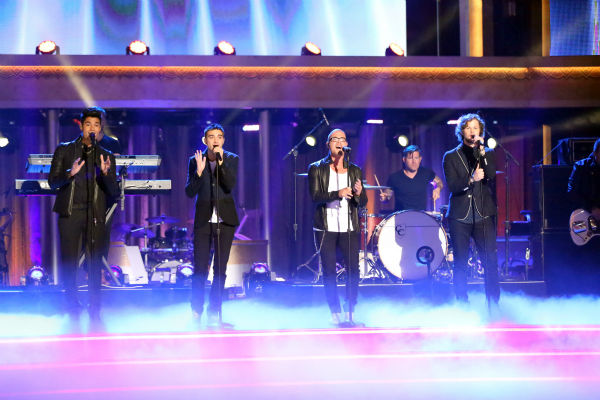 "<div class=""meta ""><span class=""caption-text "">The Wanted sings on 'Dancing With The Stars: The Results Show' on May 14, 2013. (ABC Photo / Adam Taylor)</span></div>"