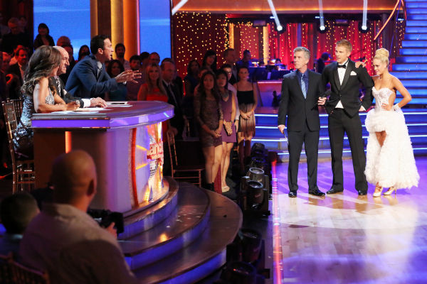 Former &#39;Bachelor&#39; star Sean Lowe and his partner Peta Murgatroyd danced the Tango on week eight of &#39;Dancing With The Stars&#39; on May 6, 2013. They received 21 out of 30 points. <span class=meta>(ABC Photo &#47; Adam Taylor)</span>