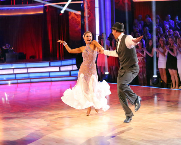 "<div class=""meta image-caption""><div class=""origin-logo origin-image ""><span></span></div><span class=""caption-text"">Actor Ingo Rademacher and partner Kym Johnson dance the Foxtrot on week eight of 'Dancing With The Stars' on May 6, 2013. They received 24 out of 30 points from the judges. (ABC Photo / Adam Taylor)</span></div>"