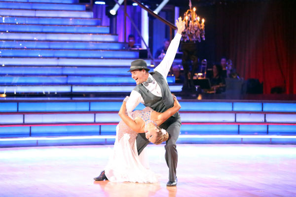 "<div class=""meta ""><span class=""caption-text "">Actor Ingo Rademacher and partner Kym Johnson dance the Foxtrot on week eight of 'Dancing With The Stars' on May 6, 2013. They received 24 out of 30 points from the judges. (ABC Photo / Adam Taylor)</span></div>"