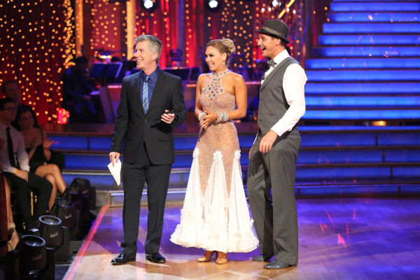 Actor Ingo Rademacher and partner Kym Johnson danced the Foxtrot on week eight of &#39;Dancing With The Stars&#39; on May 6, 2013. They received 24 out of 30 points from the judges. <span class=meta>(ABC Photo &#47; Adam Taylor)</span>