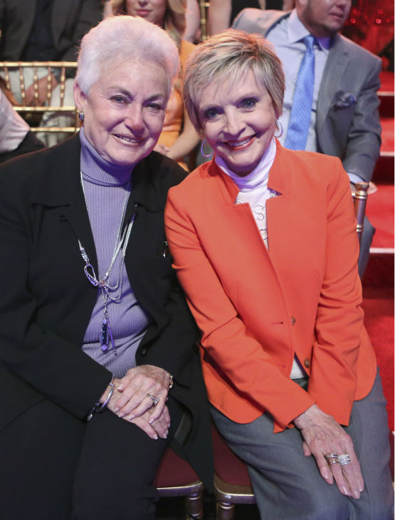 Florence Henderson, who played Carol Brady on &#39;The Brady Bunch&#39; and is a former &#39;Dancing With The Stars&#39; contestant, appears in the audience on week eight of the ABC show on May 6, 2013. <span class=meta>(ABC Photo &#47; Adam Taylor)</span>