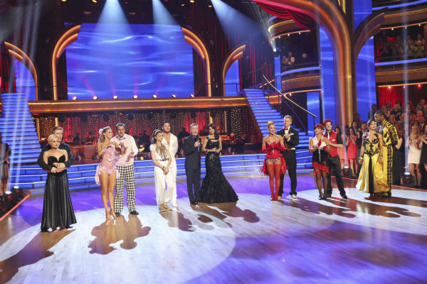 "<div class=""meta image-caption""><div class=""origin-logo origin-image ""><span></span></div><span class=""caption-text"">The remaining six contestants appear on week eight of 'Dancing With The Stars' on May 6, 2013. (ABC Photo / Adam Taylor)</span></div>"