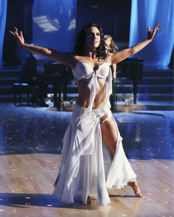 "<div class=""meta ""><span class=""caption-text "">Christina Grimmie performed 'Take Care' accompanied by professional dancers, Sharna Burgess and Gleb Savchenko, on 'Dancing With The Stars: The Results Show' on May 14, 2013. (ABC Photo / Adam Taylor)</span></div>"