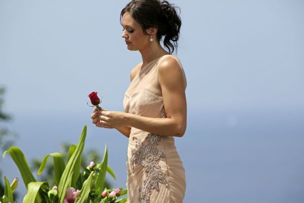 Desiree Hartsock appears on the finale of the ABC show &#39;The Bachelorette,&#39; just before she gives Chris Siegfried her final rose and before he proposes to her. The episode aired on Aug. 5, 2013. <span class=meta>(ABC Photo &#47; Francisco Roman)</span>