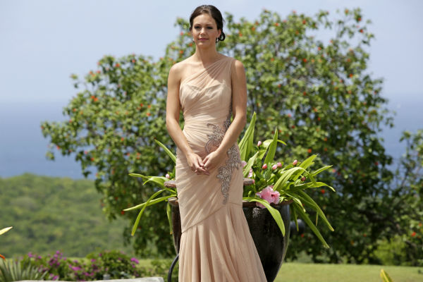 "<div class=""meta ""><span class=""caption-text "">Desiree Hartsock appears on the finale of the ABC show 'The Bachelorette,' just before she gives Chris Siegfried her final rose and before he proposes to her. The episode aired on Aug. 5, 2013. (ABC Photo / Francisco Roman)</span></div>"