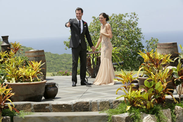 Chris Siegfried proposes to Desiree Hartsock on the finale of the ABC show &#39;The Bachelorette.&#39; She gave him her final rose. The episode aired on Aug. 5, 2013. <span class=meta>(ABC Photo &#47; Francisco Roman)</span>