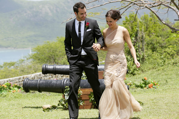 Desiree Hartsock and Chris Siegfried appear on the finale of the ABC show &#39;The Bachelorette.&#39; She gave him her final rose and he proposed to her. The episode aired on Aug. 5, 2013. <span class=meta>(ABC Photo &#47; Francisco Roman)</span>