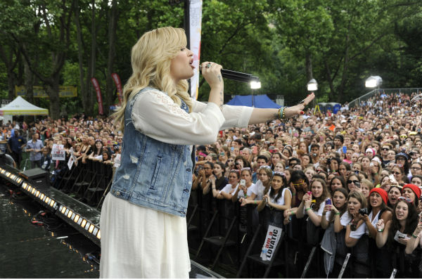 "<div class=""meta image-caption""><div class=""origin-logo origin-image ""><span></span></div><span class=""caption-text"">Demi Lovato performs live from New York City's Central Park on ABC's 'Good Morning America' ('GMA') on June 28, 2013. (ABC / Donna Svennevik)</span></div>"