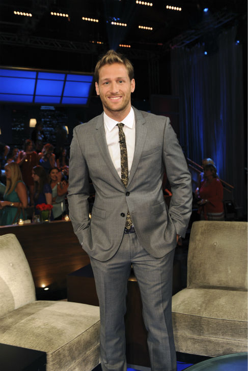 "<div class=""meta ""><span class=""caption-text "">The newly-named star of ABC's 'The Bachelor' season 18, Juan Pablo Galavis, a sexy single father of one daughter from Miami, Florida, appears on 'The Bachelorette - After the Final Rose' - the season 9 finale of the show on Aug. 5, 2013. 'The Bachelor' returns in January of 2014.  (ABC Photo / Matt Petit)</span></div>"