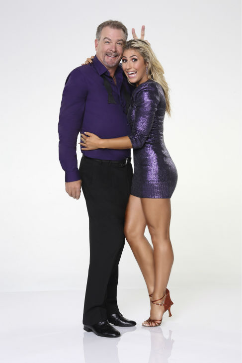 &#39;Dancing With the Stars&#39; season 17 cast member and comedian Bill Engvall appears with dance partner Emma Slater in an official cast photo, ahead of the Fall 2013 premiere of the ABC show. <span class=meta>(ABC Photo &#47; Craig Sjodin)</span>
