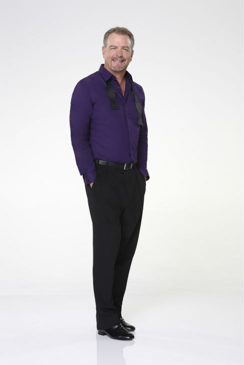 &#39;Dancing With The Stars&#39; cast member and comedian Bill Engvall appears in an official cast photo ahead of the Fall 2013 premiere of the ABC show. His partner is Emma Slater. <span class=meta>(ABC Photo &#47; Craig Sjodin)</span>
