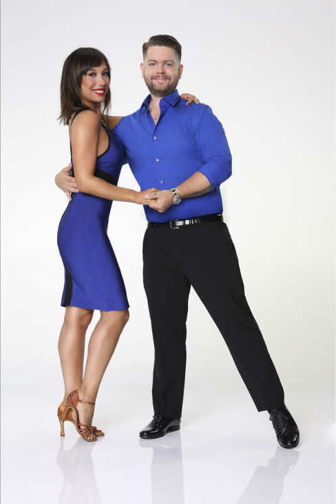 "<div class=""meta ""><span class=""caption-text "">'Dancing With the Stars' season 17 cast member Jack Osbourne, son of Ozzy and Sharon Osbourne, appears with dance partner Cheryl Burke in an official cast photo, ahead of the Fall 2013 premiere of the ABC show. (ABC Photo / Craig Sjodin)</span></div>"